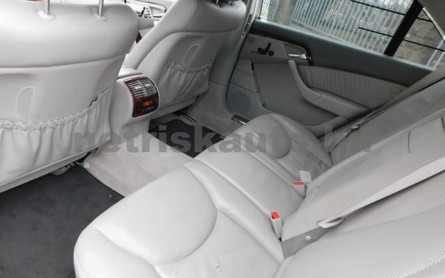 MERCEDES-BENZ S-osztály S 500 L 4Matic Aut. személygépkocsi - 4966cm3 Benzin 27432 11/12