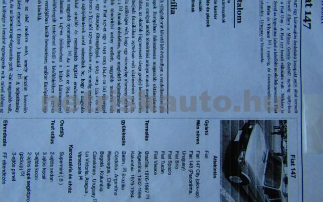 FIAT 127-147 A/5 személygépkocsi - 1049cm3 Benzin 106549 7/7