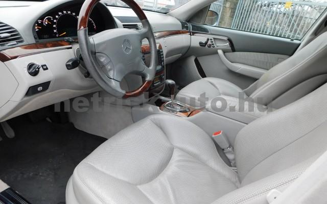 MERCEDES-BENZ S-osztály S 500 L 4Matic Aut. személygépkocsi - 4966cm3 Benzin 27432 6/12
