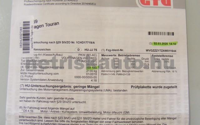 VW Touran 1.4 TSi Highline személygépkocsi - 1390cm3 Benzin 47406 9/10