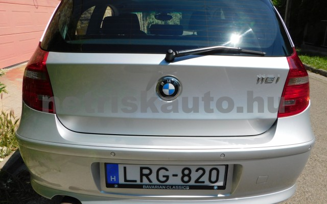 BMW 1-es sorozat 116i Aut. személygépkocsi - 1599cm3 Benzin 93223 4/12
