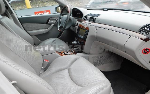 MERCEDES-BENZ S-osztály S 500 L 4Matic Aut. személygépkocsi - 4966cm3 Benzin 27432 10/12