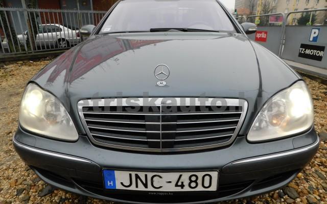 MERCEDES-BENZ S-osztály S 500 L 4Matic Aut. személygépkocsi - 4966cm3 Benzin 27432 4/12