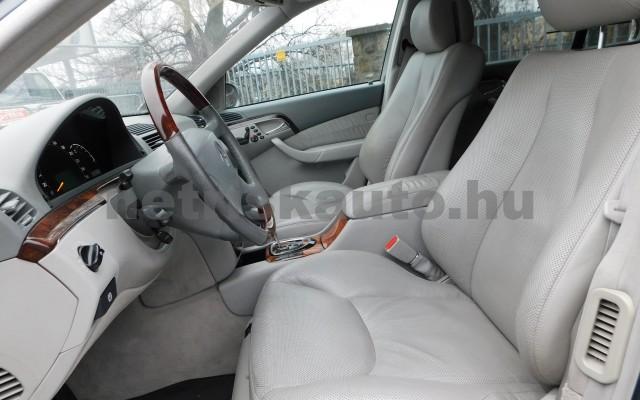 MERCEDES-BENZ S-osztály S 500 L 4Matic Aut. személygépkocsi - 4966cm3 Benzin 27432 7/12