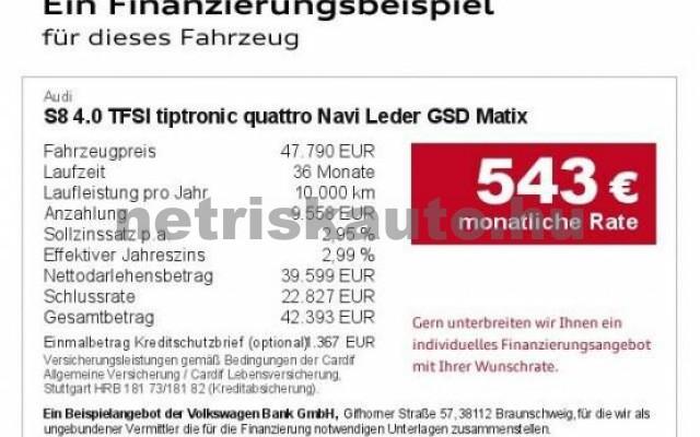 AUDI S8 személygépkocsi - 3993cm3 Benzin 42538 4/7