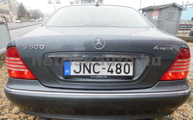 MERCEDES-BENZ S-osztály S 500 L 4Matic Aut. személygépkocsi - 4966cm3 Benzin 27432 5/12